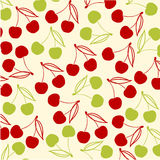 Cherries background Stock Image