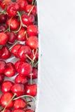 Cherries Background Stock Photo