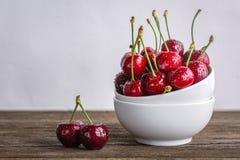 Cherries, berries royalty free stock photography
