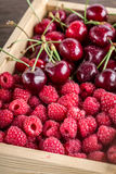Cherries, berries, raspberry Stock Photography