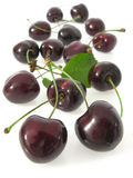 Cherries black Royalty Free Stock Image