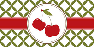 Cherries Border Royalty Free Stock Images