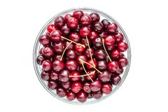 Cherries in a bowl Royalty Free Stock Photo