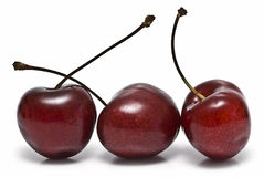 Cherries for breakfast. Stock Images