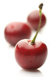 Cherries close-up Stock Photo