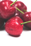 Cherries close-up Stock Photography