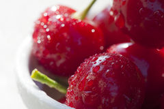 Cherries Close up Stock Photo