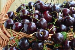 Cherries - closeup Royalty Free Stock Photography