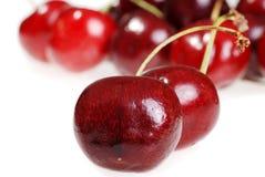 Cherries closeup shallow DOF Royalty Free Stock Photography