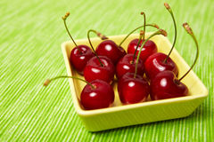 Cherries for dessert Stock Image