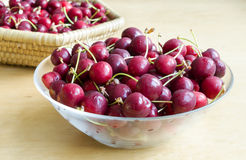 Cherries fruit Stock Photos