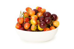 Cherries isolated Royalty Free Stock Image