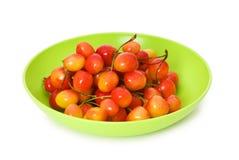 Cherries isolated Stock Photos