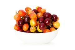 Cherries isolated Stock Photo