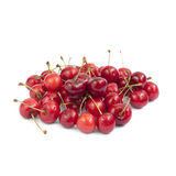Cherries isolated. On white background Stock Photo