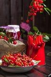 Cherries jam. Royalty Free Stock Photos