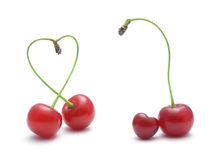Cherries love Stock Photo