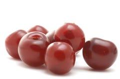 Cherries macro royalty free stock photography