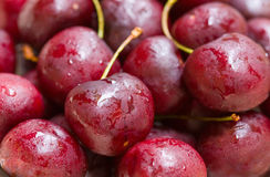 Cherries Macro Royalty Free Stock Photo