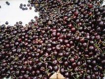 cherries organic market Royalty Free Stock Photography