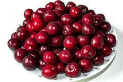 Cherries passion royalty free stock photography