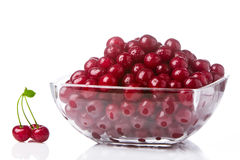 Cherries in a salad bowl 1 Royalty Free Stock Photography