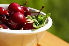 Cherries, shallow dof Royalty Free Stock Image