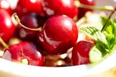 Cherries, shallow dof Stock Image
