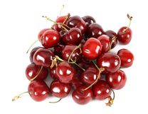 Cherries stack Stock Photos