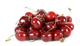 Cherries stack Royalty Free Stock Images