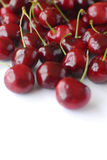 Cherries still life. In studio with  white background Stock Photography