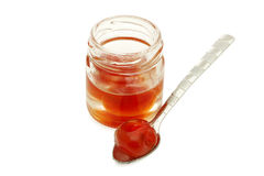 Cherries in syrup Royalty Free Stock Photo