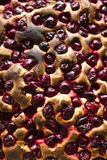 Cherry tart Stock Photos