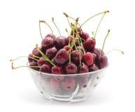 Cherries in a vase. Stock Photos