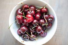 Portion of Cherries. Organic, fresh. Stock Images