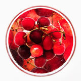 Cherry сompote Royalty Free Stock Photography