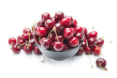 cherry świeże Zdjęcie Stock