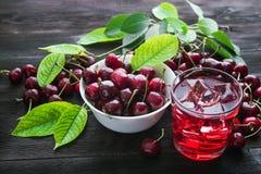 cherry świeże Fotografia Royalty Free