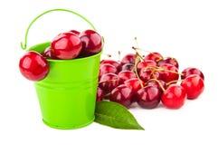 cherry świeżej czerwony Fotografia Stock