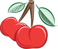 Cherry Arkivfoto