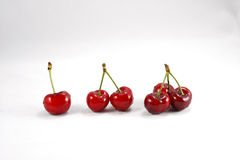 Cherry. Healthy eating delicious red cherry fruit Stock Image