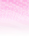Cherry. Background illustration of cherry beautiful pink Stock Image