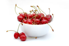 Cherry. Isolated on white background Royalty Free Stock Photo