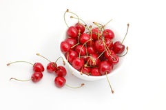 Cherry. Isolated on white background Royalty Free Stock Photos