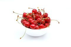 Cherry. Isolated on white background Stock Image