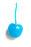 Cherry. Blue cherry for cocktail stock image
