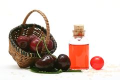 Cherry Aromatherapy Stock Image