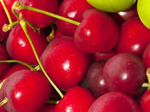 Cherry background Stock Photo