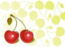 Cherry background Stock Photo