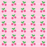 Cherry Background icon great for any use. Vector EPS10. Royalty Free Stock Photos
